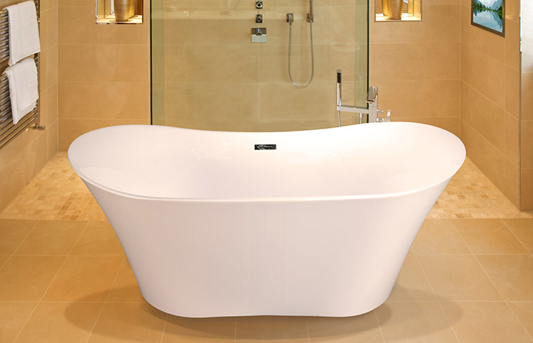 """Alexa 67"""" x 31"""" Free Standing Soaker Tub Only"""