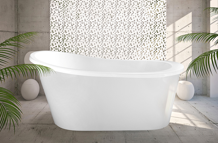 "Isabel 59"" x 31"" Free Standing Soaker Tub Only"