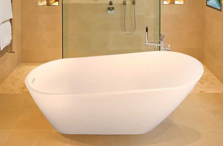 "Julia 67"" x 32"" Free Standing Soaker Tub Only"