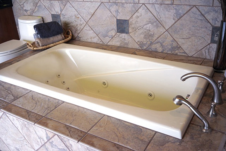 "Serenity 94"" x 40"" Heated Soaking Bath"