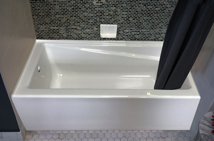 """Contempra 60"""" x 32"""" Right Hand Soaker Tub Only"""