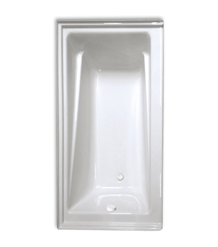 Contempra 6032 Right Hand Soaker Tub Only - Size: 60\'\' x 32\'\' x 20 ...