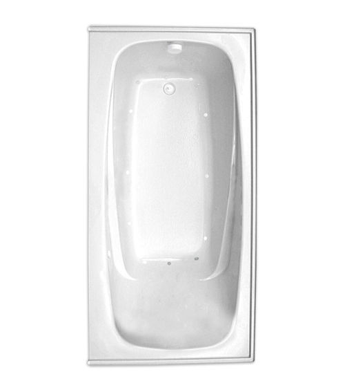 "Escape 72"" x 36"" Left Hand Silver Series Air Massage Bath"