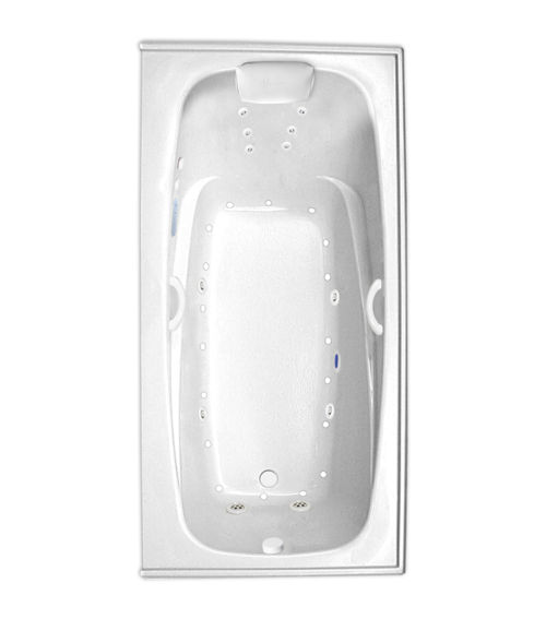 "Escape 72"" x 36"" Right Hand Gold Series Hydro and Air Massage Bath"