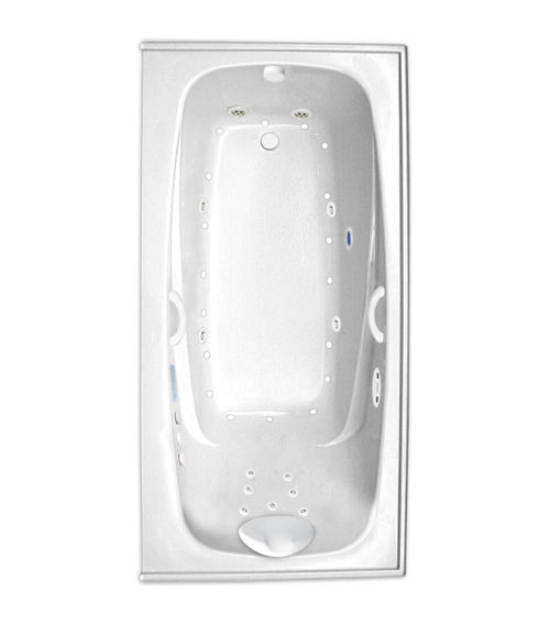 "Escape 60"" x 34"" Left Hand Platinum Series Hydro and Air Massage Bath"