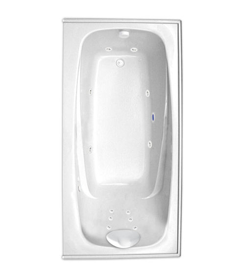 "Escape 66"" x 34"" Left Hand Gold Series Hydro Massage Bath"