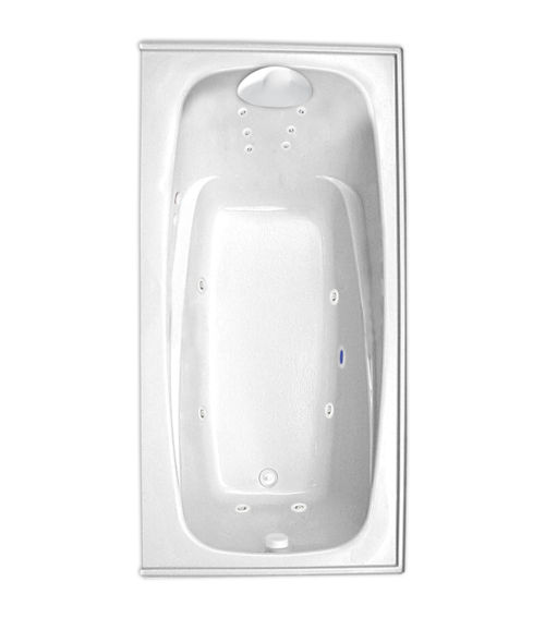 "Escape 72"" x 36"" Right Hand Gold Series Hydro Massage Bath"