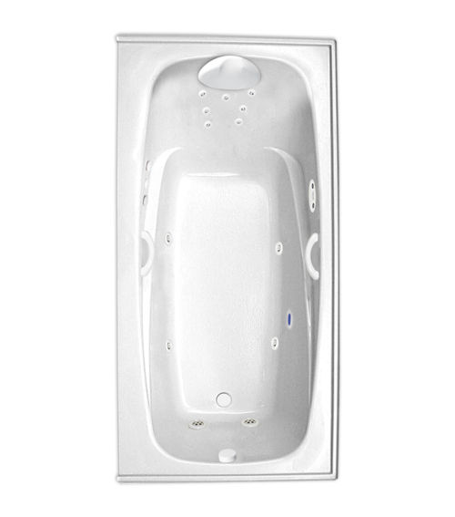 "Escape 66"" x 34"" Right Hand Platinum Series Hydro Massage Bath"
