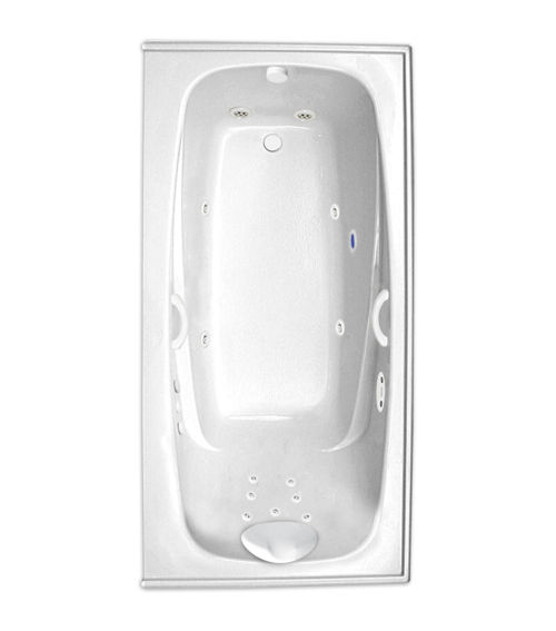 "Escape 72"" x 36"" Left Hand Platinum Series Hydro Massage Bath"