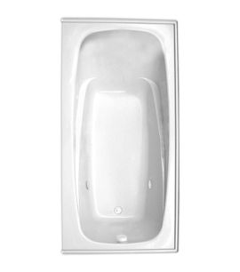 "Escape 72"" x 36"" Right Hand Heated Soaking Bath"