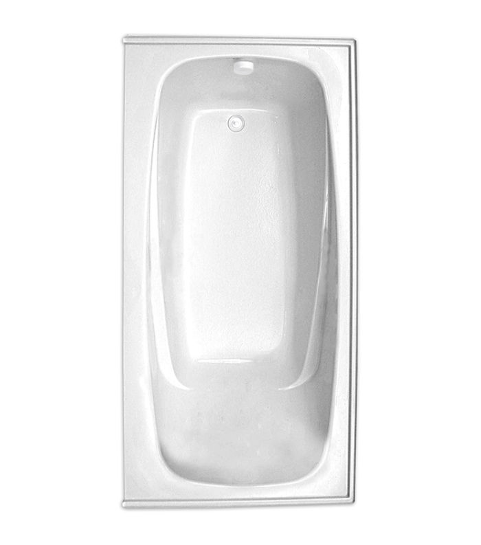 "Escape 66"" x 36"" Left Hand Soaker Tub Only"