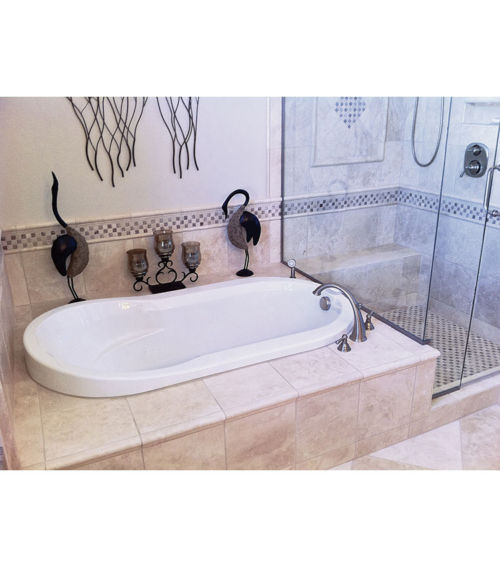 "Haven 66"" x 36"" Heated Soaking Bath"