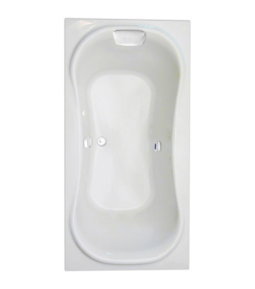 "Heavenly 72"" x 36"" Heated Soaking Bath"