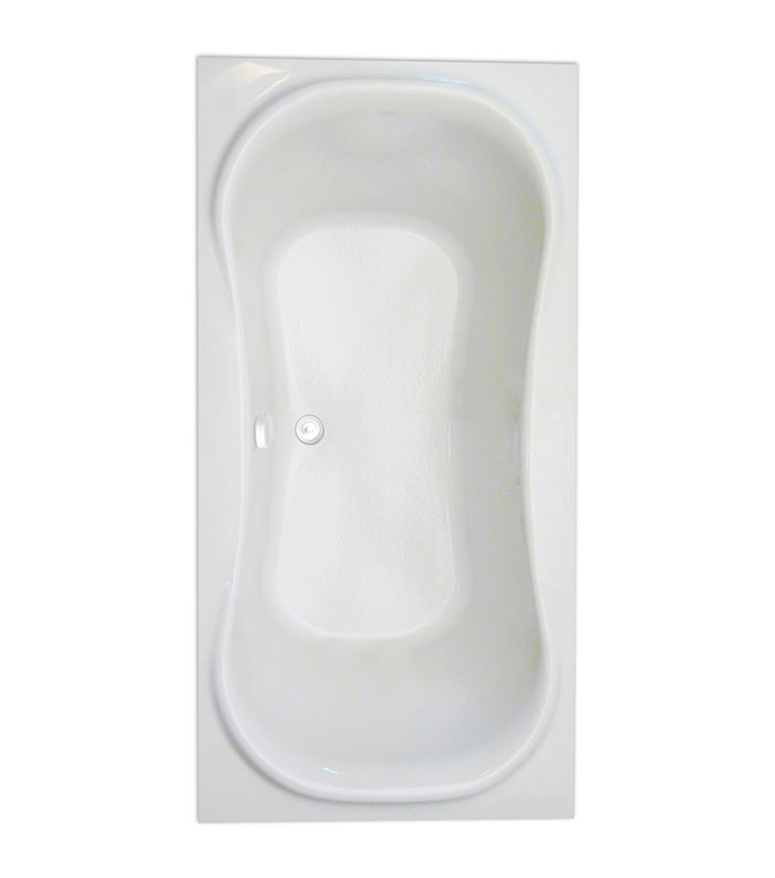 "Heavenly 72"" x 36"" Soaker Tub Only"
