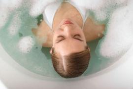Heated Oxygen Soak Hydrotherapy