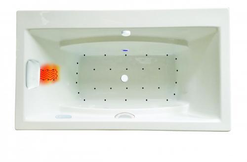 "Reward 66"" x 36"" Platinum Series Air Massage Bath"