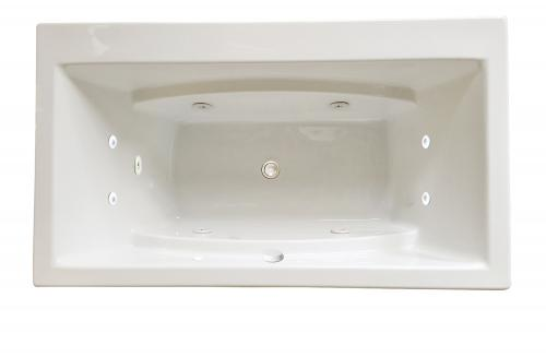 "Reward 66"" x 36"" Silver Series Hydro Massage Bath"