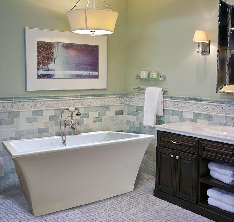 Reward 6636SD Free Standing Soaker Tub - Size: 66\