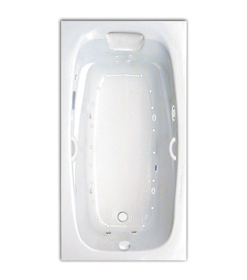 """Tranquility 60"""" x 32"""" Gold Series Hydro and Air Massage Bath"""