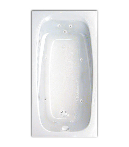 "Tranquility 60"" x 32"" Silver Series Hydro Massage Bath"