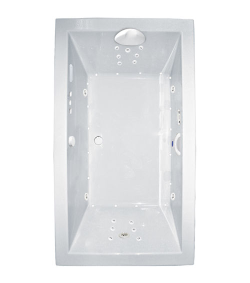 "Zen 66"" x 32"" Platinum Series Hydro and Air Massage Bath"