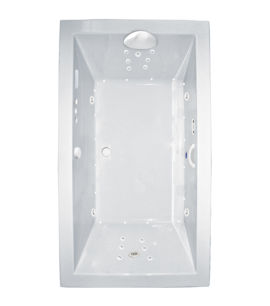 "Zen 72"" x 36"" Platinum Series Hydro and Air Massage Bath"