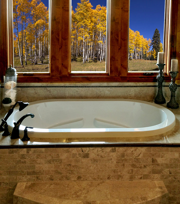"Zen Oval 72"" x 42"" Heated Soaking Bath"