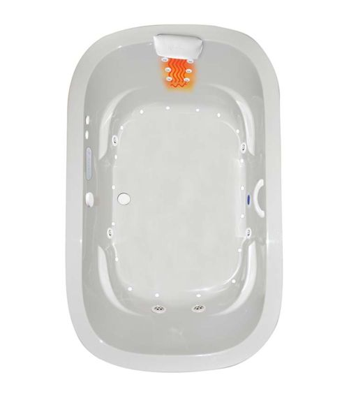 """Zen Oval 66"""" x 42"""" Gold Series Hydro and Air Massage Bath"""